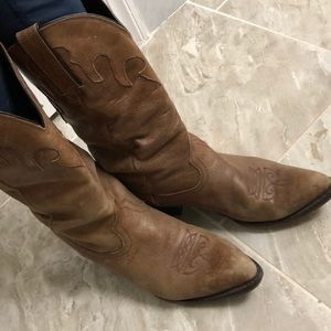 REAL LEATHER VINTAGE Durango boots
